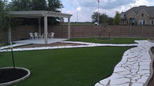 Synthetic Turf Installation in Austin, Texas