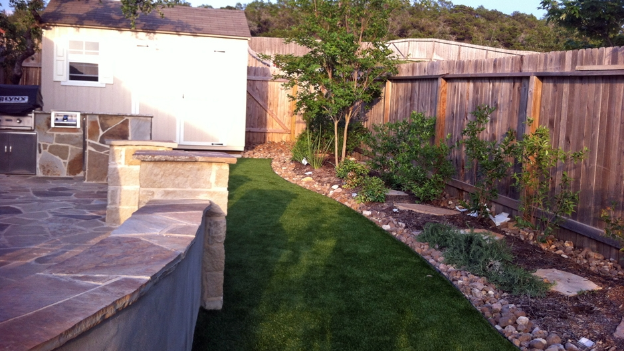 Artificial Grass Installation In San Antonio, Texas