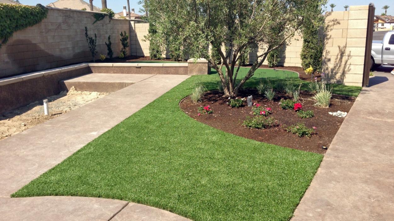 Artificial Grass installation in Fresno, California