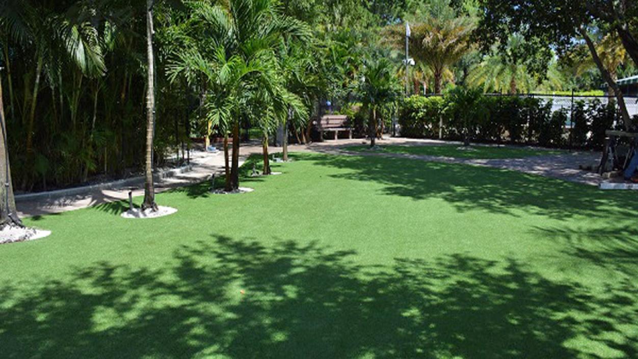 Artificial Grass Backyard in Jacksonville, Florida