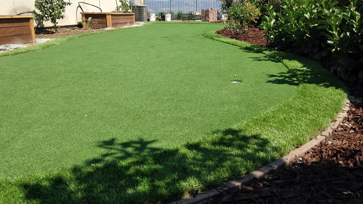 Synthetic Lawn in Fresno, California