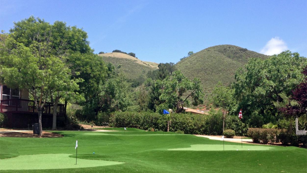 Artificial Grass installation in Santa Rosa, California