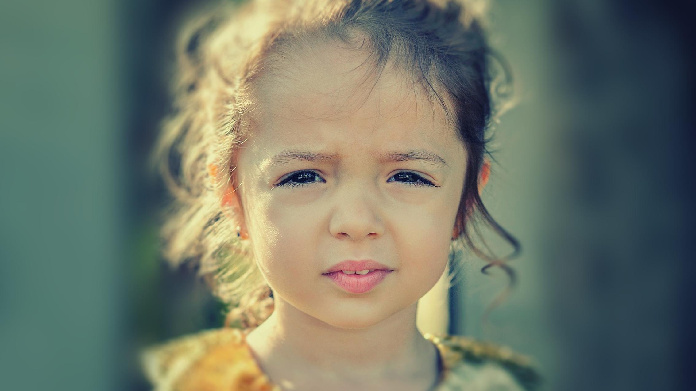 Girl Face Worried Health