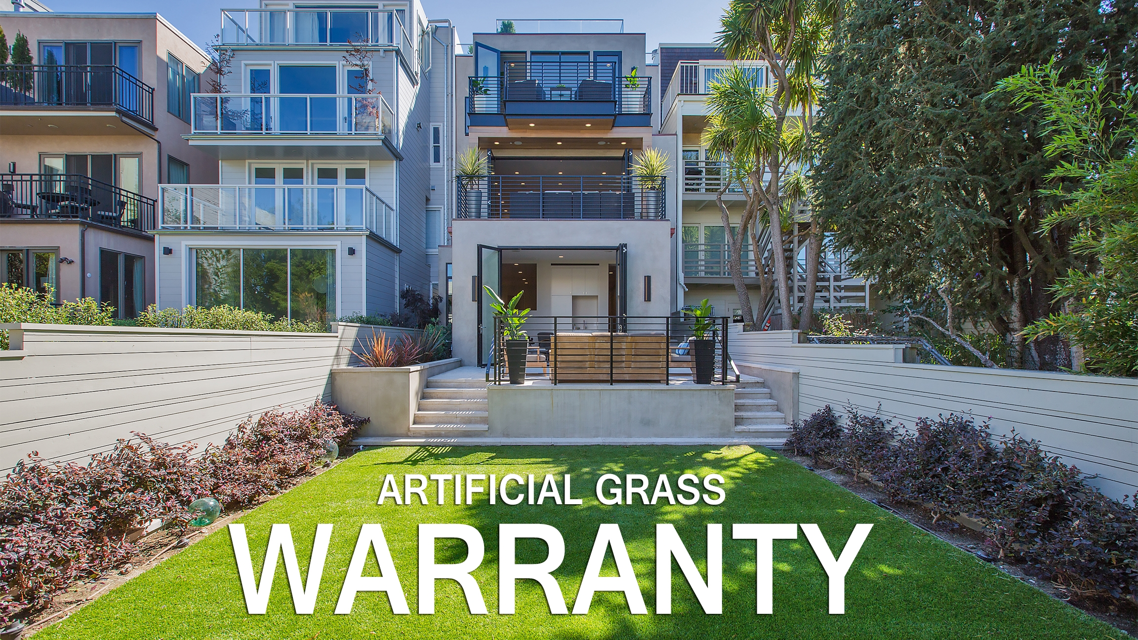 Artificial grass, synthetic turf, warranty