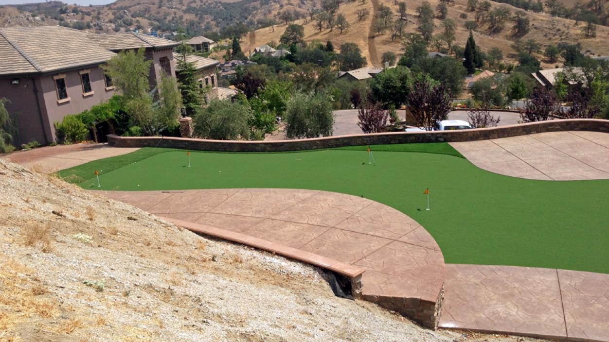 Artificial Grass Installation in Santa Maria, California