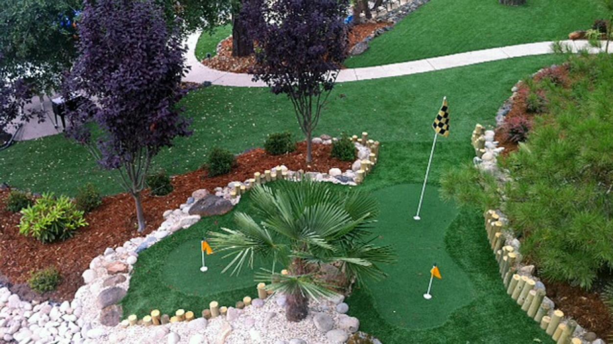 Artificial Grass Installation in Santa Cruz, California