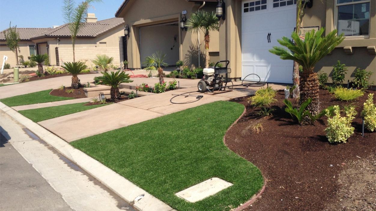 Artificial Grass Installation in Huntington Beach, California