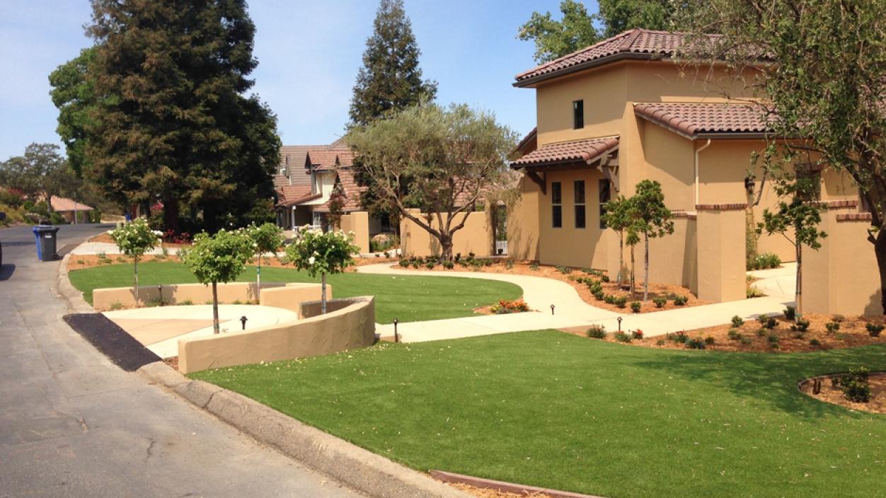 Artificial Grass Installation in Saratoga, California