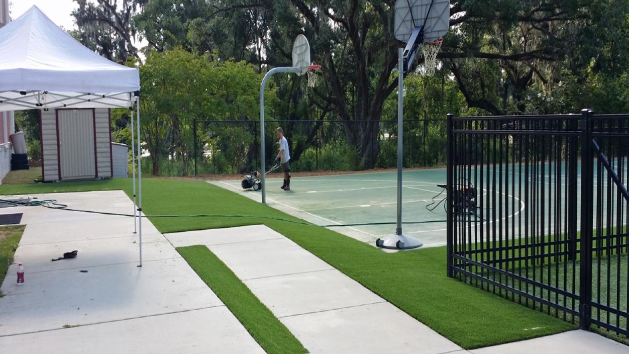 Artificial Grass Installation in Charlotte, North Carolina