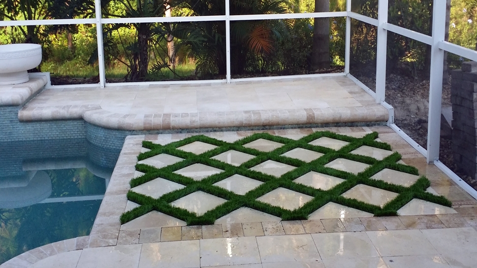 Artificial Grass Installation in Tampa, Florida