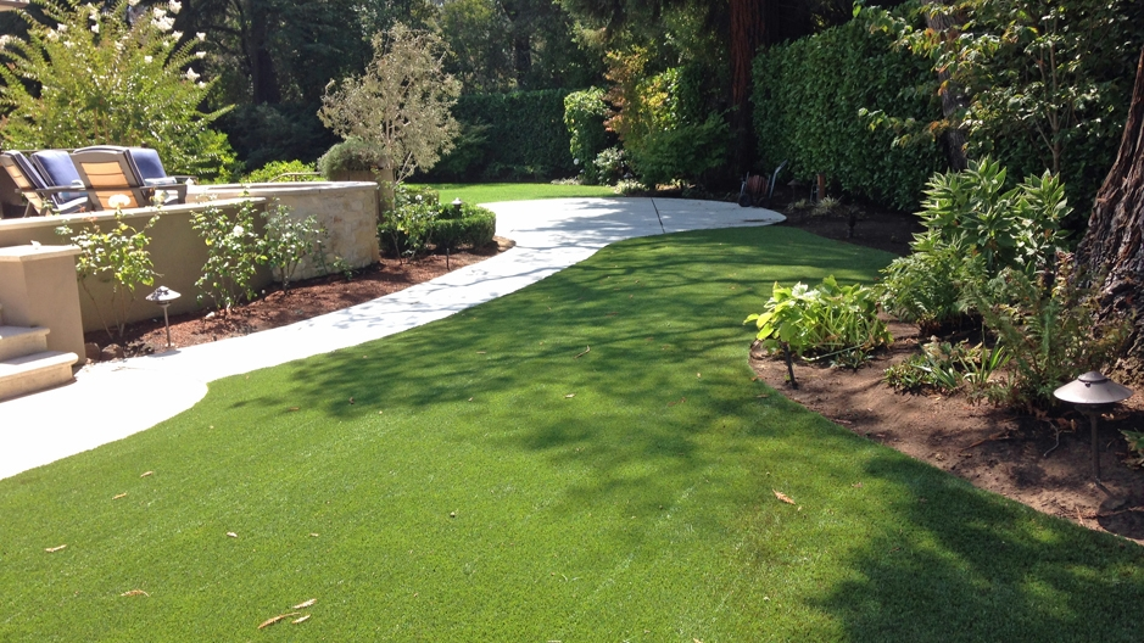 Artificial Grass Installation In Atherton, California