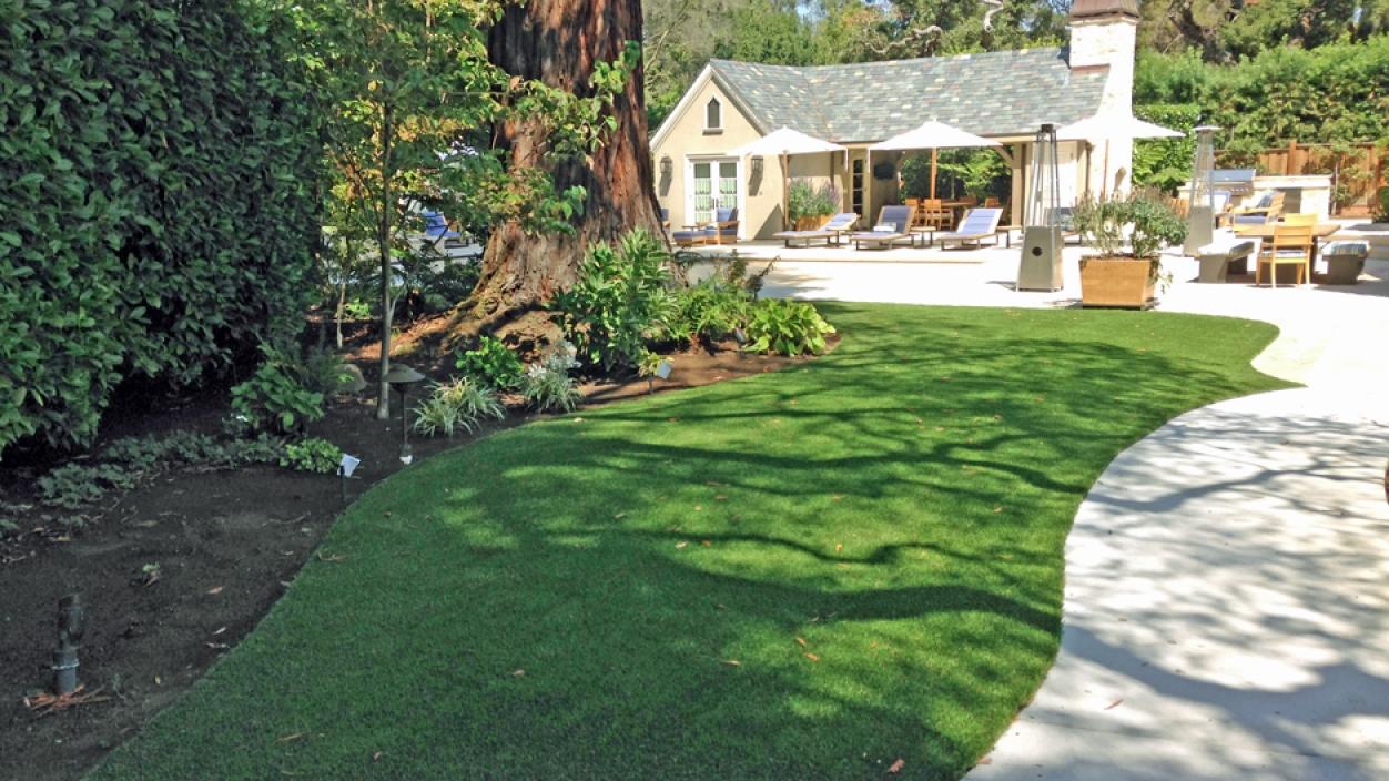 Artificial Grass Installation In Los Altos Hills, California