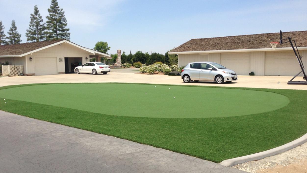 Artificial Grass Installation In Portola Valley, California