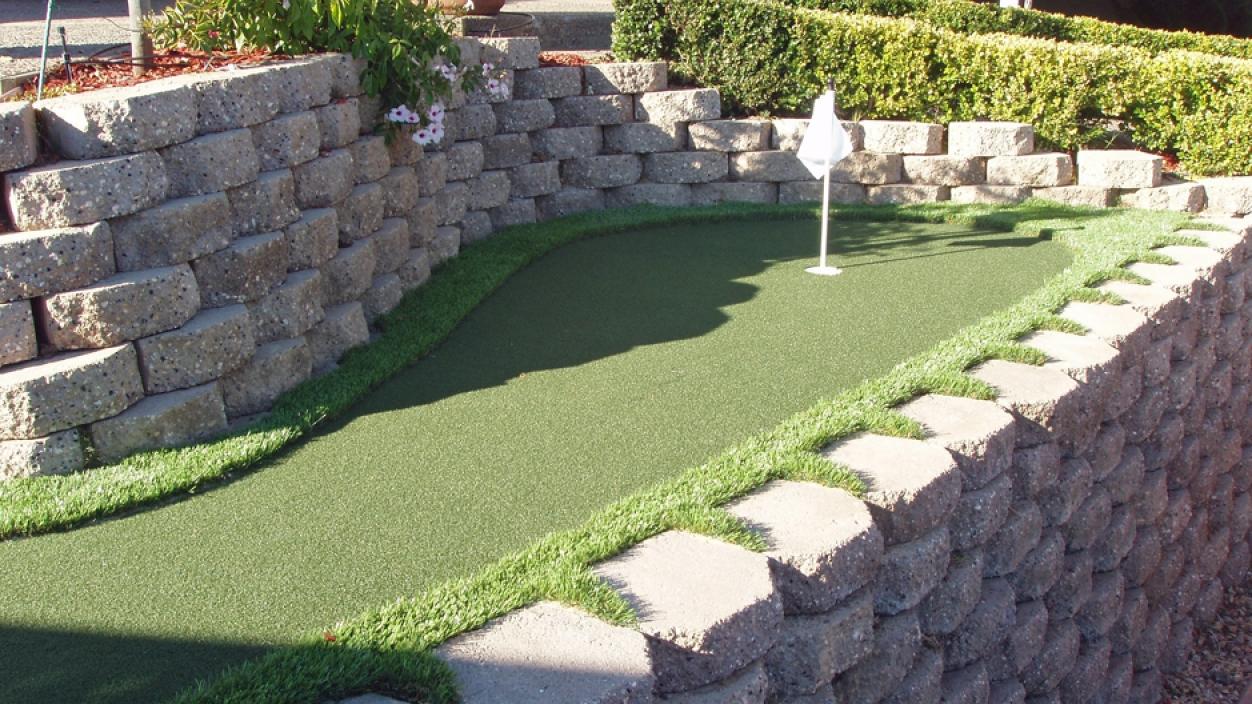 Artificial Grass Installation in Gilroy, California