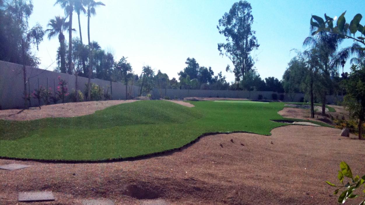 Artificial Grass Installation in Gilbert, Arizona