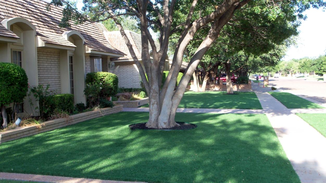 Artificial Grass Installation in Abilene, Texas