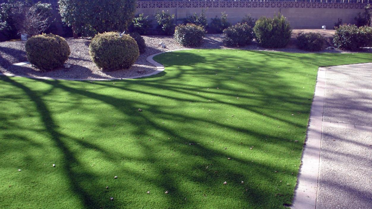 Artificial Grass Installation in Santa Fe, New Mexico