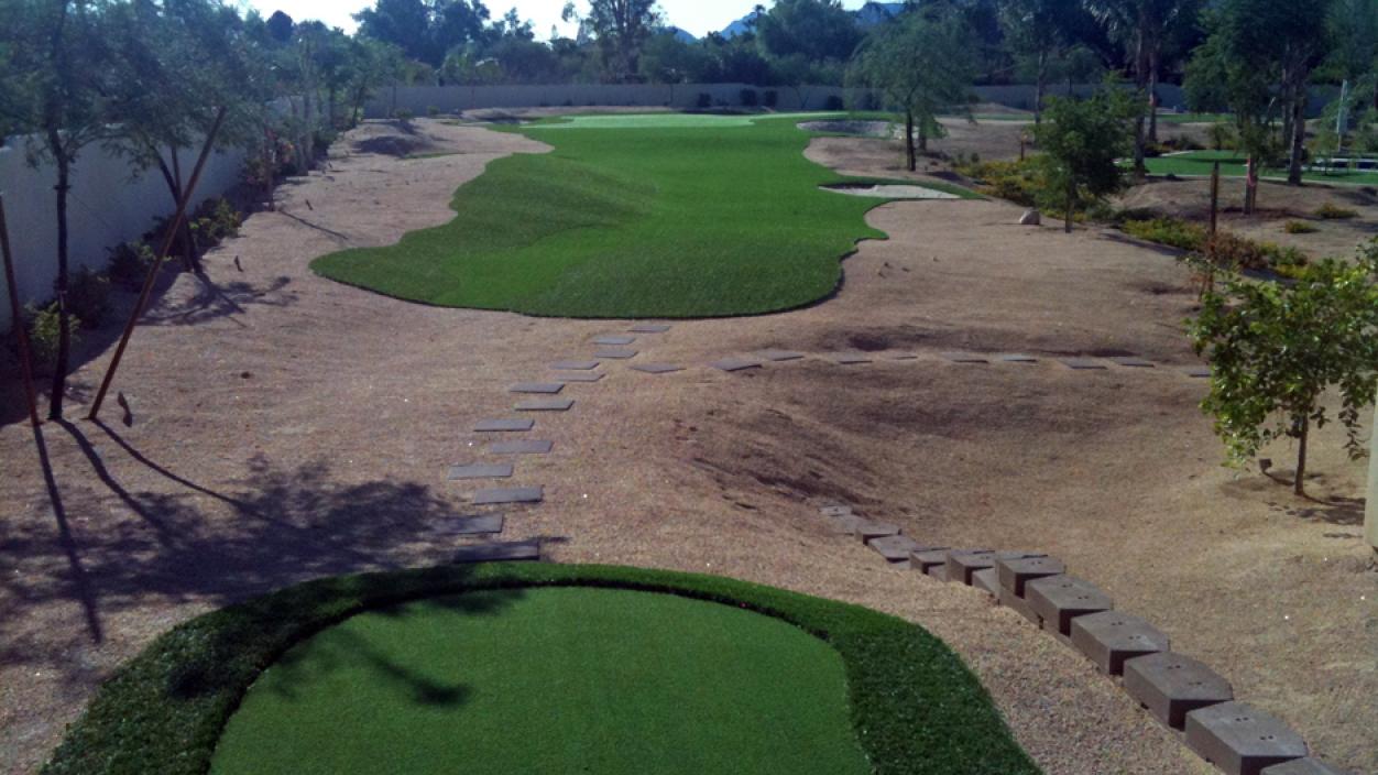 Artificial Grass Installation In Paradise Valley, Arizona