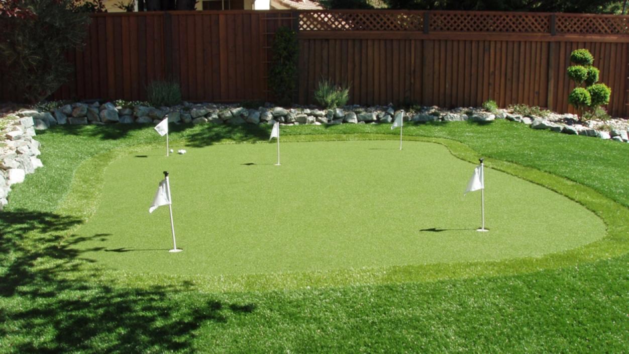 Artificial Grass Installation In Santa Barbara, California