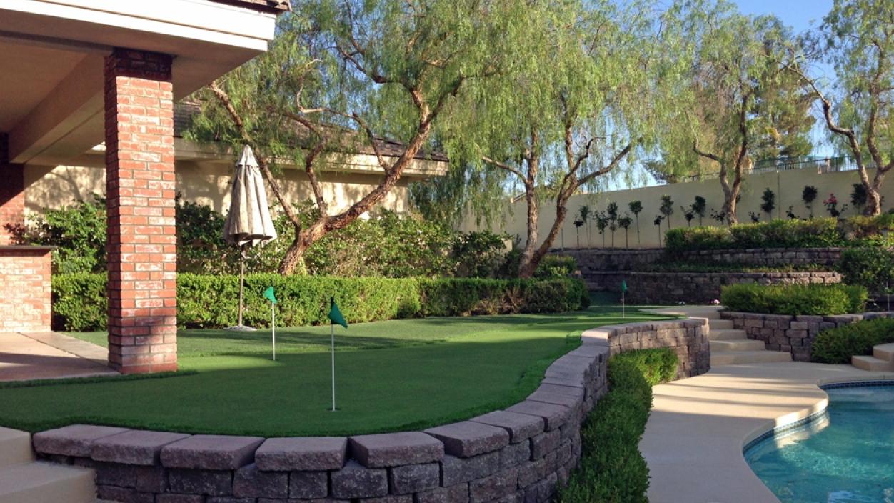 Artificial Grass Installation in North Las Vegas, Nevada