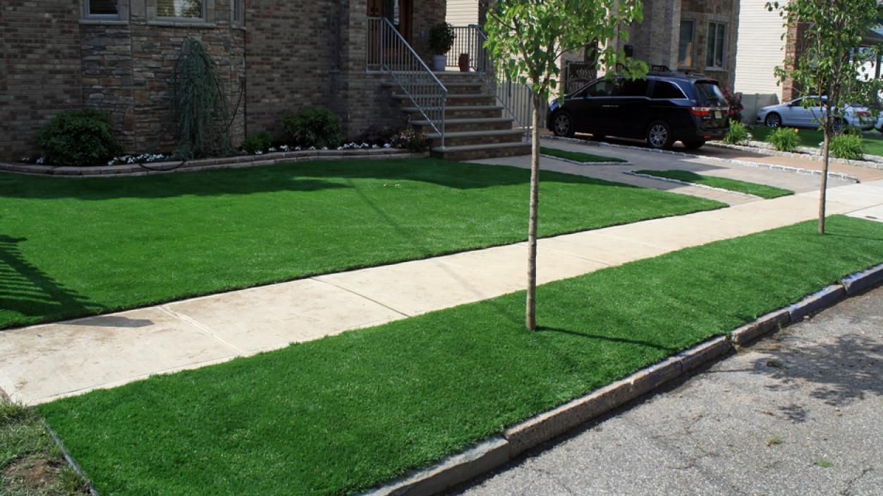 Artificial Grass Installation in Glen Ridge, New Jersey