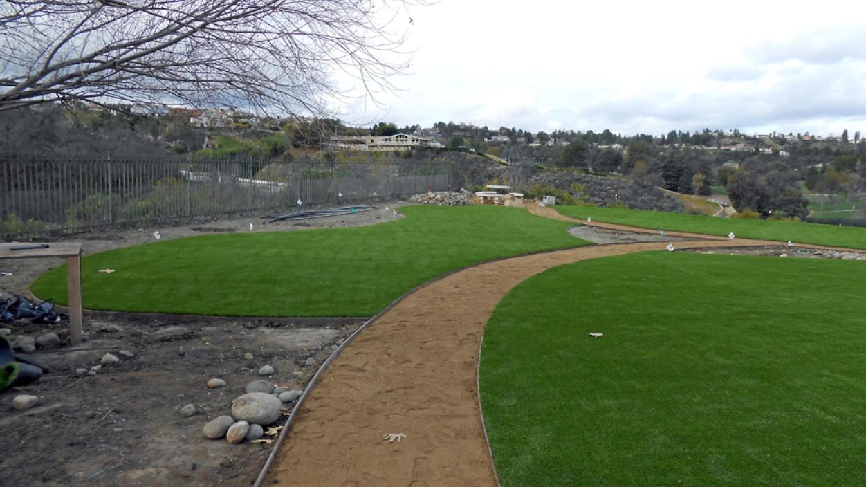 Artificial Grass Installation in Laguna Niguel, California