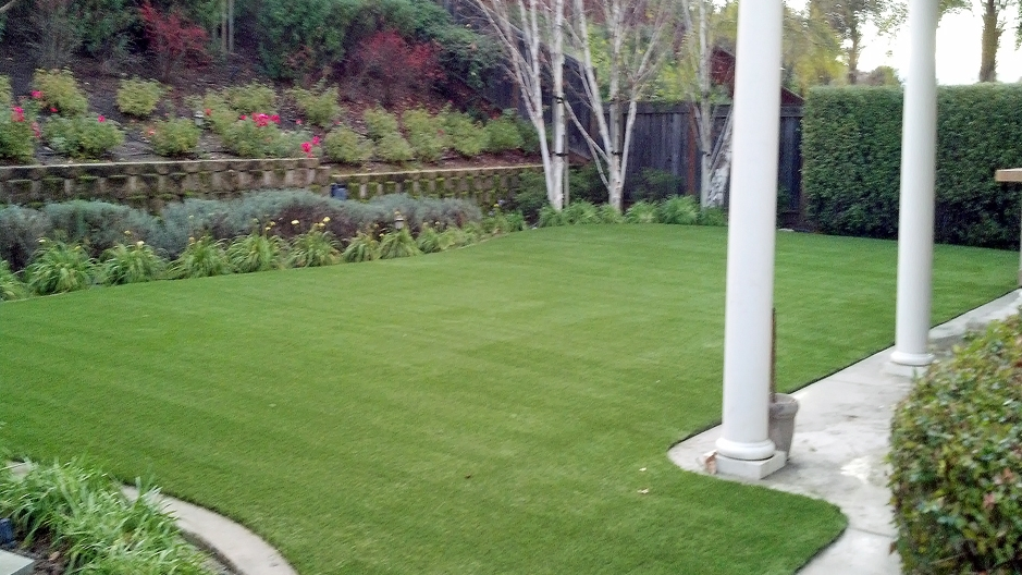 Artificial Grass Installation in Belmont, California