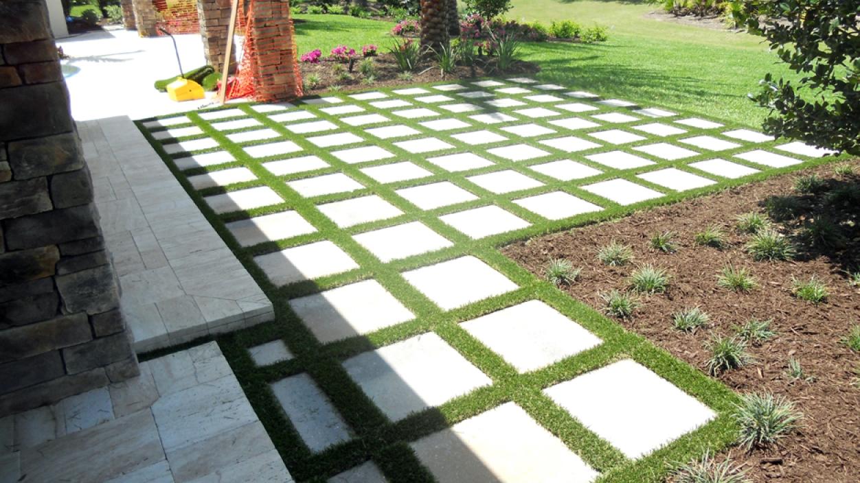 Artificial Grass Installation in Sarasota, Florida