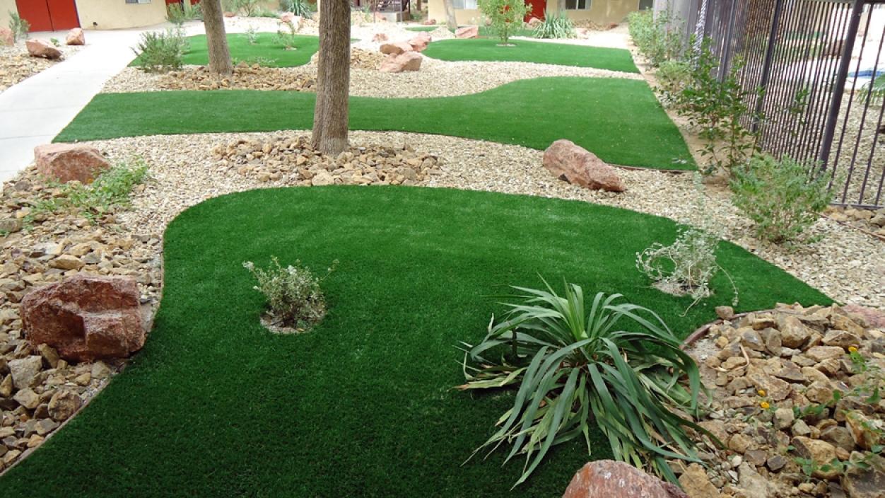 Artificial Grass Installation in Rancho Santa Margarita, California
