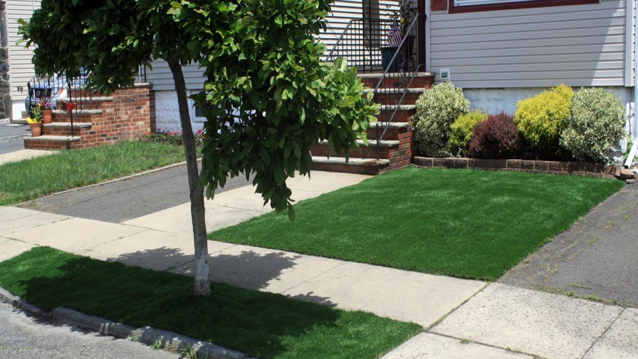 Artificial Grass Installation in Hartford, Connecticut