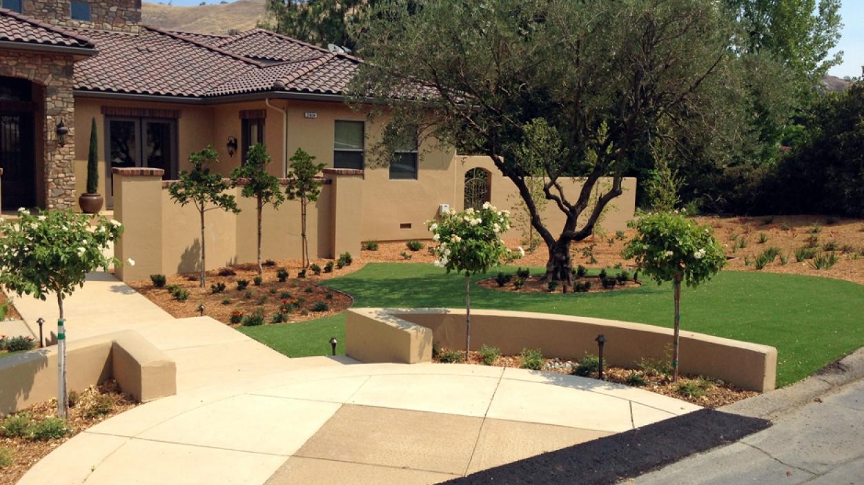 Artificial Grass Installation in San Marcos, California