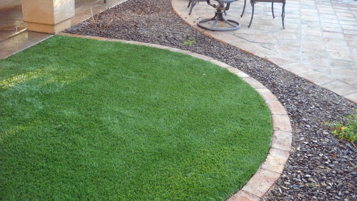 Round Patio Always Green Addition