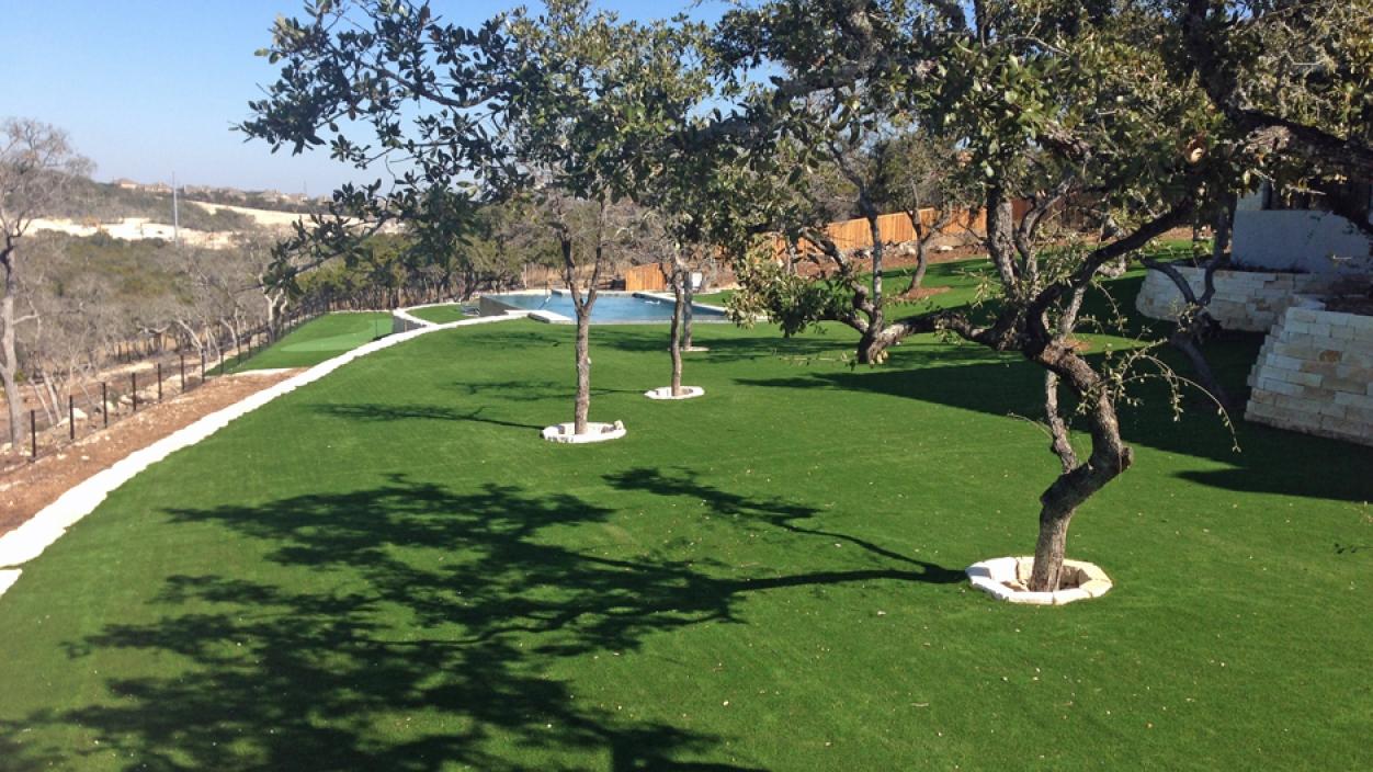 Artificial Grass Installation in Bellaire, Texas