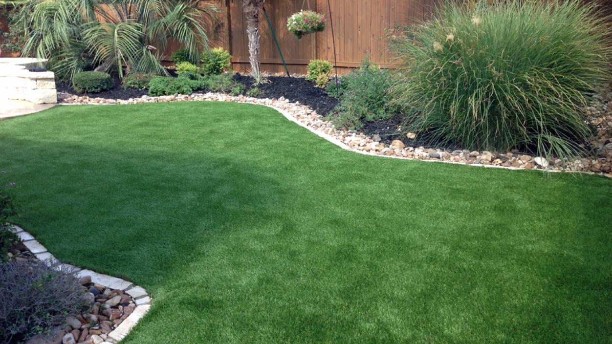Artificial Grass Installation in Boerne, Texas