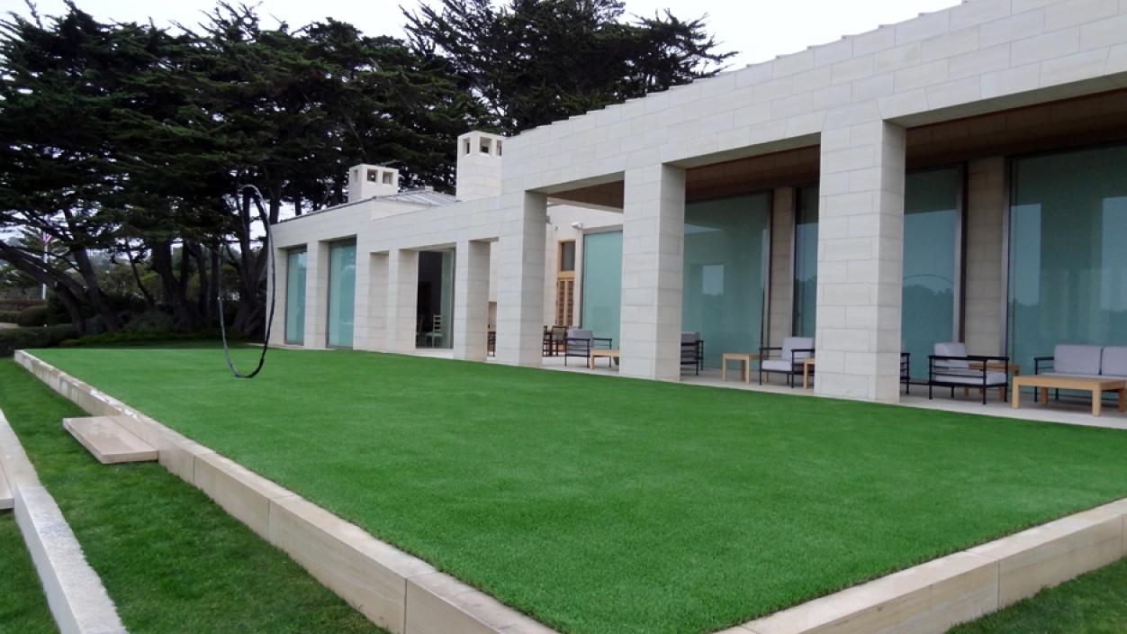 Artificial Grass Installation in Pebble Beach, California
