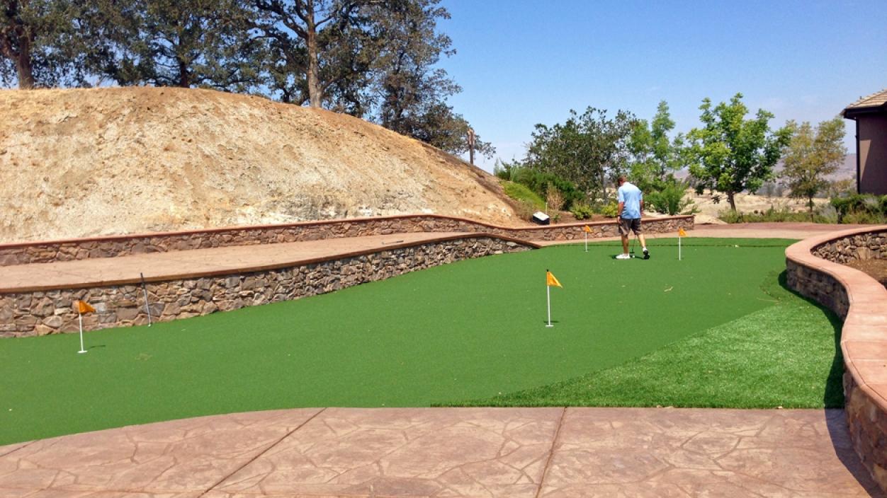 Artificial Grass Installation in Corona, California