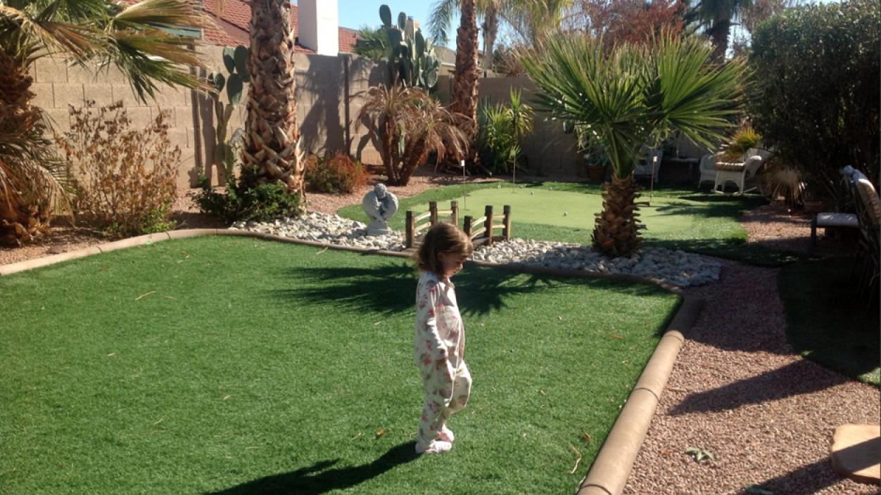 Artificial Grass Installation in Goodyear, Arizona
