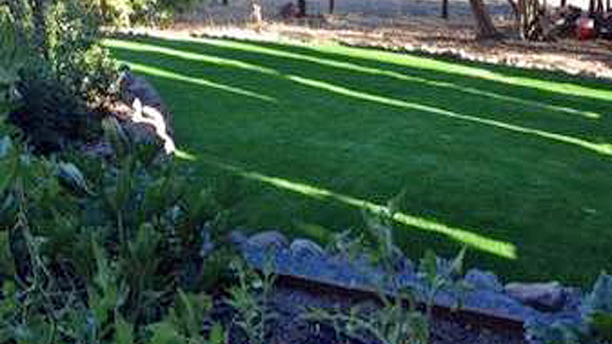 Artificial Grass Installation in Visalia, California