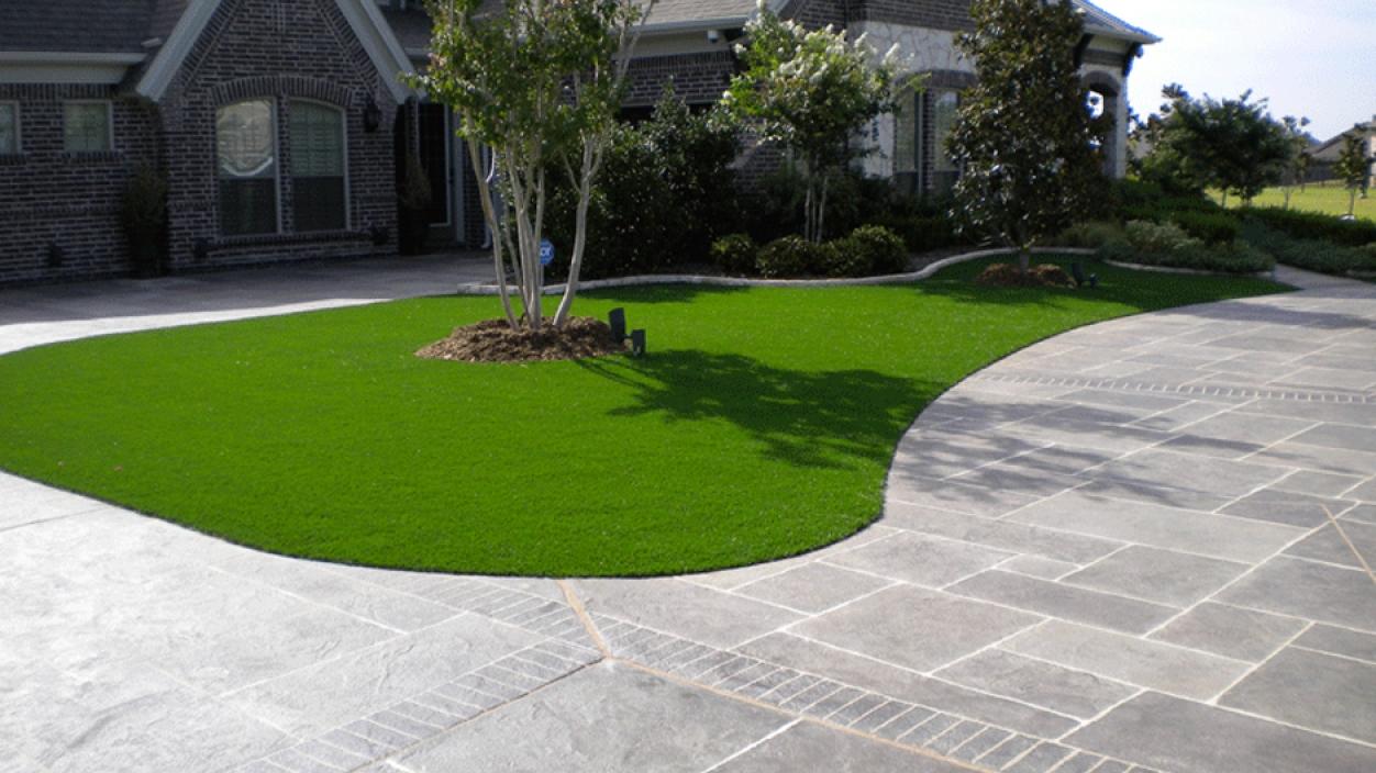 Artificial Grass Installation in Amarillo, Texas