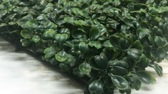 Privacy Screen Walls Panels With Artificial Boxwood Ivy