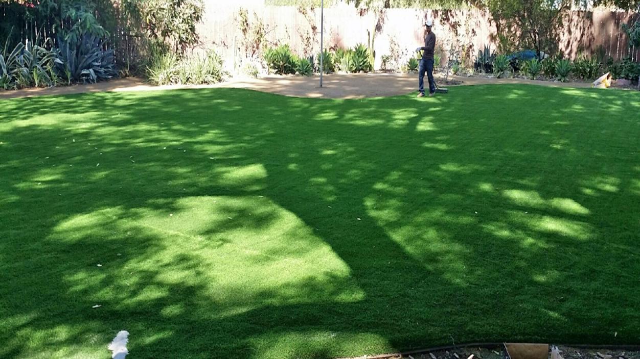 Artificial Grass Installation in Hesperia, California
