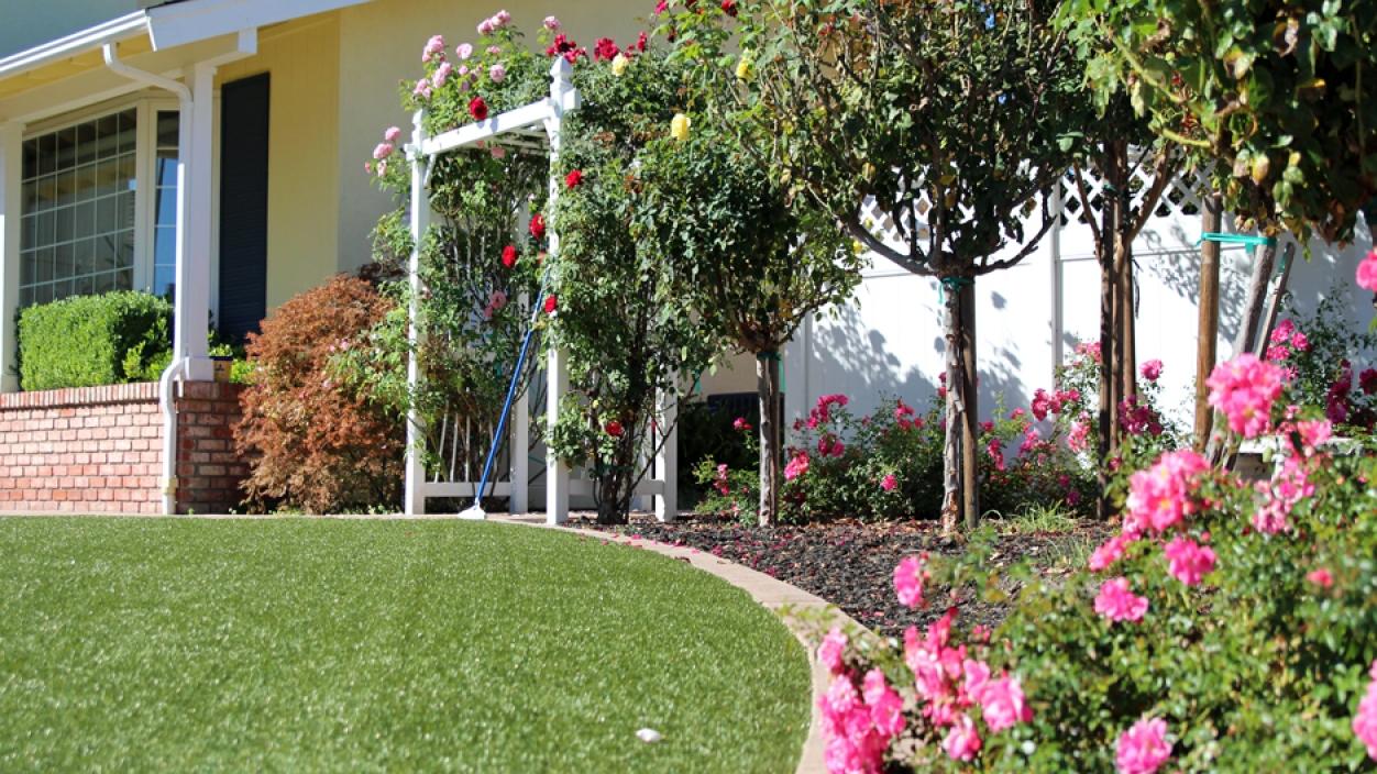 Artificial Grass Installation in Redding, California