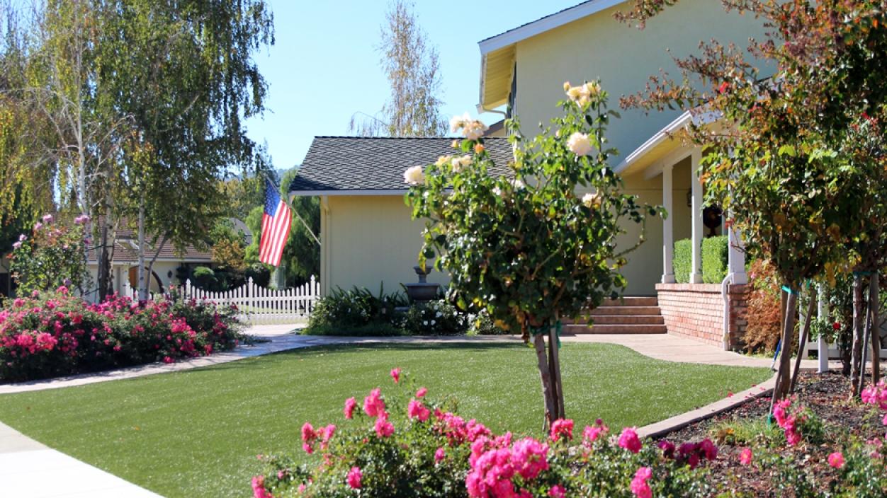 Artificial Grass Installation In Chino, California