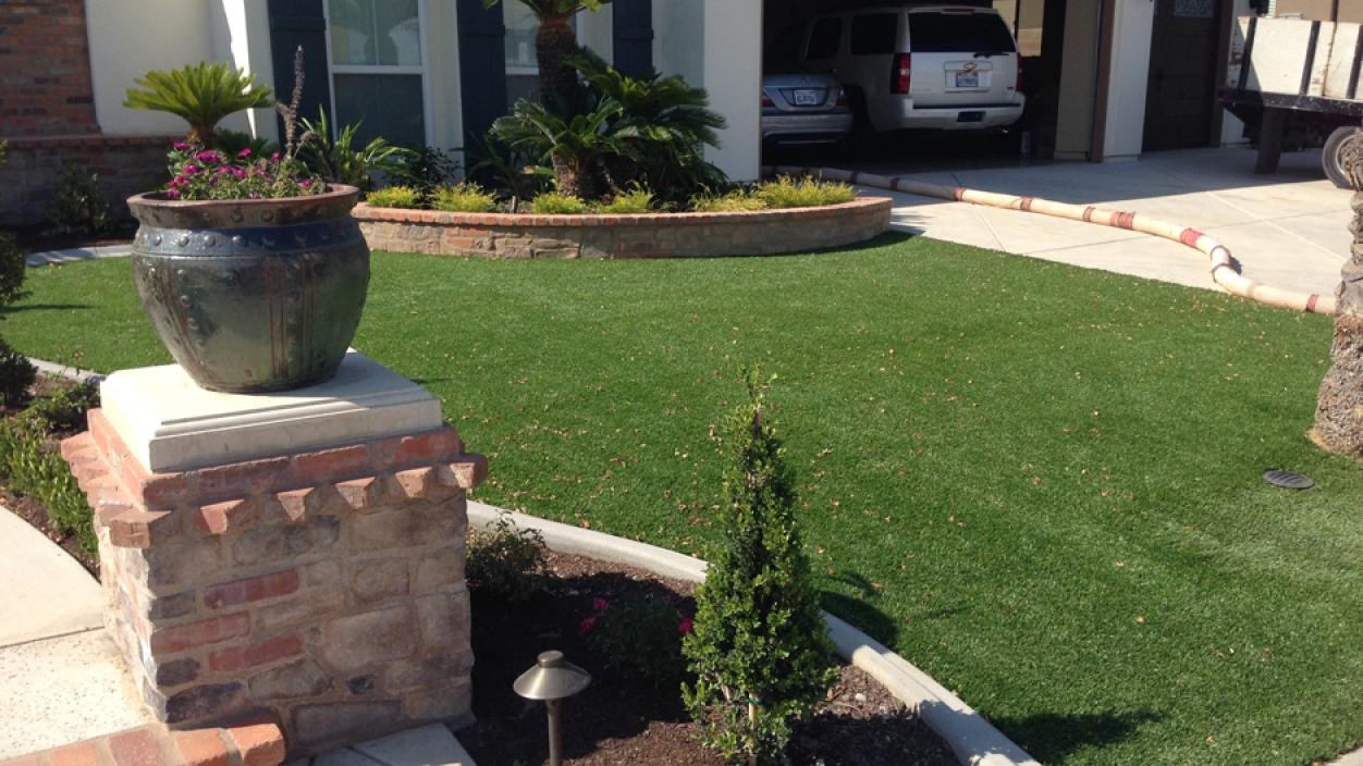 Artificial Grass Installation In Encinitas, California