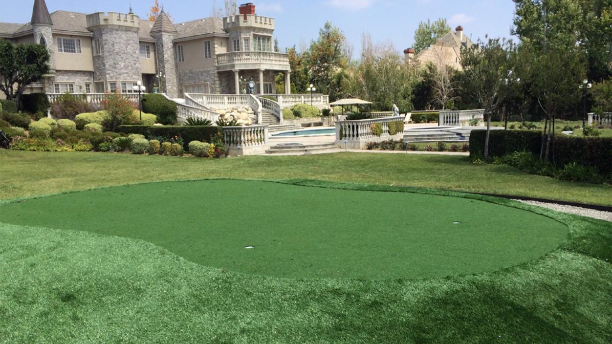 Artificial Grass Installation in Rancho Santa Fe, California
