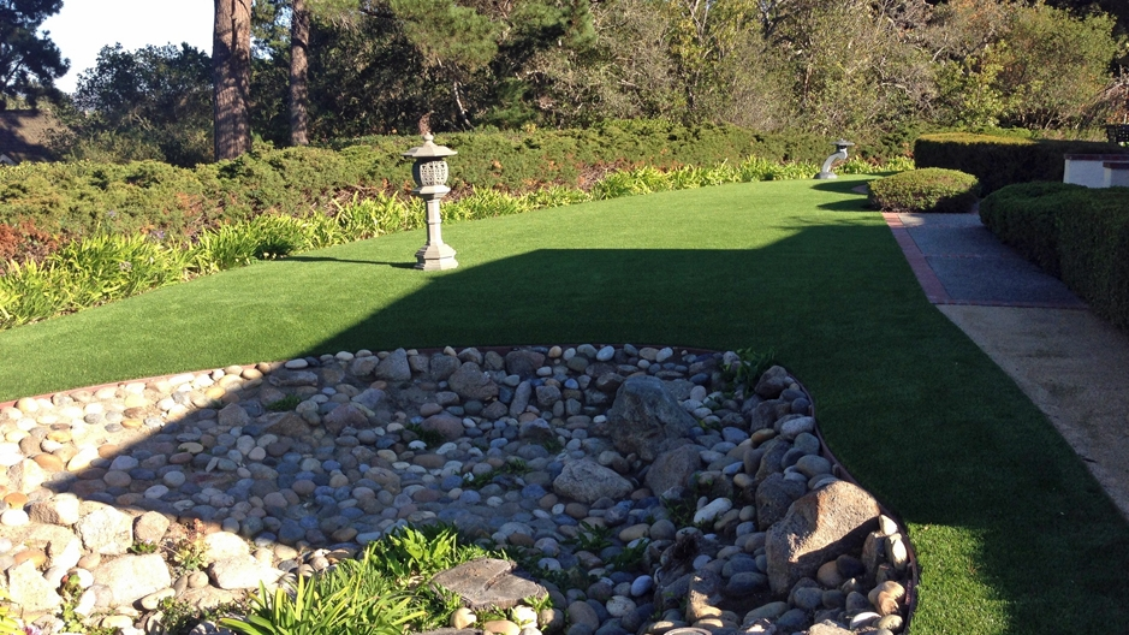 Artificial Grass Installation In San Angelo, Texas