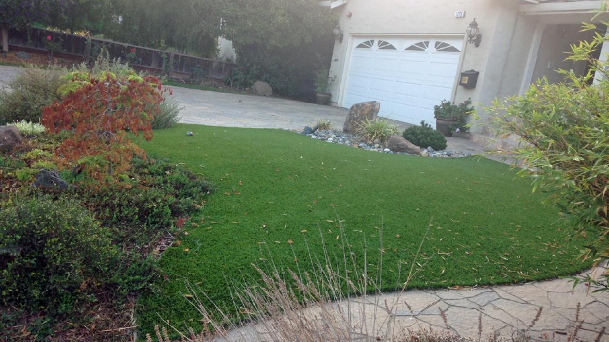 Artificial Grass Installation in Avila Beach, California