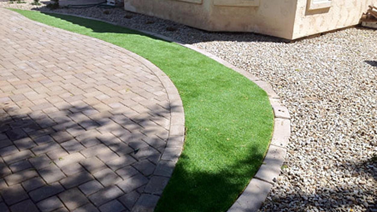 Artificial Grass Installation in Bisbee, Arizona