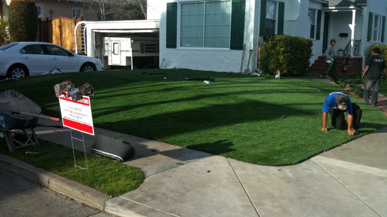Artificial Grass Installation In Eureka, California