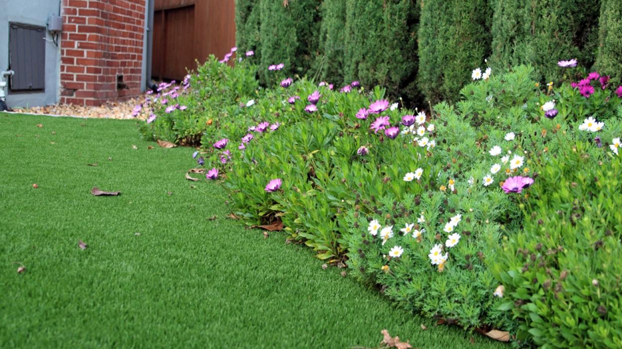 Artificial Grass Installation in Home Gardens, California